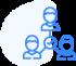 Icône recrutement collaboratif